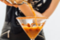 Caramel Iced Coffee Martini