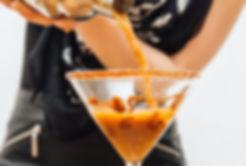 Caramel Iced Coffee Martini