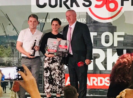 Scoozi wins Best Restaurant at Best of Cork Awards