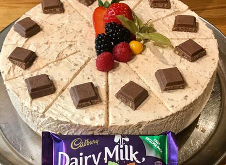 Scoozi Dessert Special: Mint Crisp cheesecake