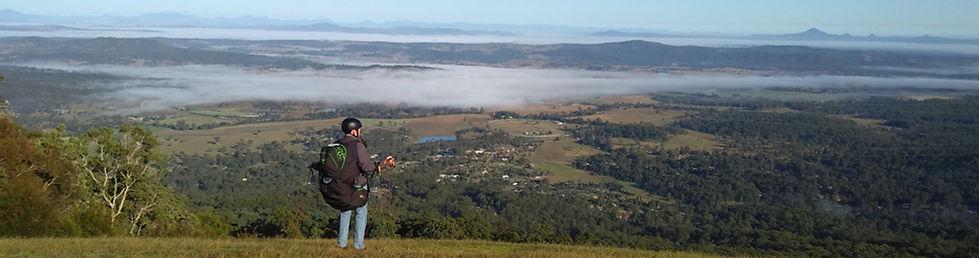 Paratech Paragliding lessons Australia Tamborine Mountain