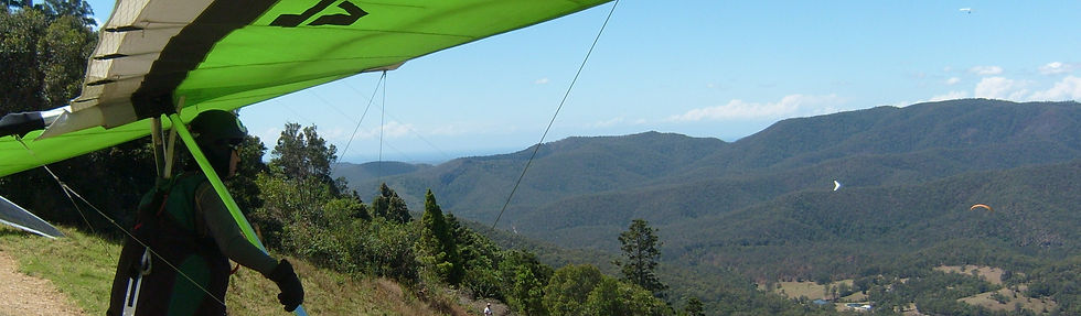 Hang Gliding conversion to paragliding