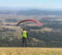 paragliding lessons australia