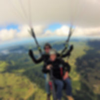 Paragliding tandems Gold Coast Australia