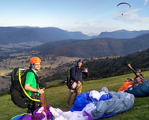 paragliding queensland