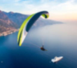 Paragliding lessons Queensland
