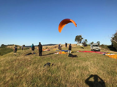 Paragliding lessons Gold Coast