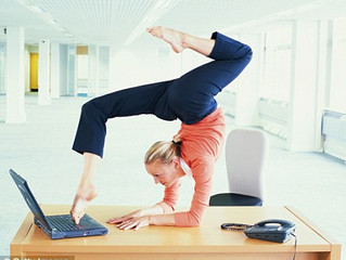 Chained To Your Desk? Here Are 6 Exercises To Keep You Moving