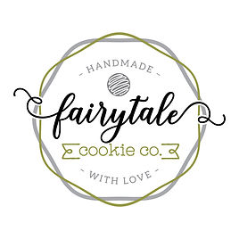 Fairytale Cookie Co - olive green logo.j