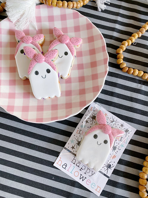 Small Ghost Cookie Card