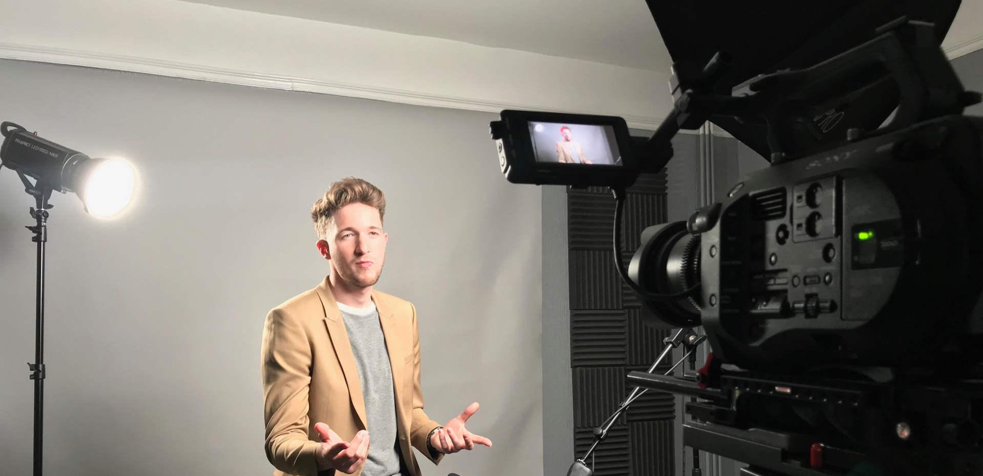 James Tzsanoudakis Interview setup.JPG