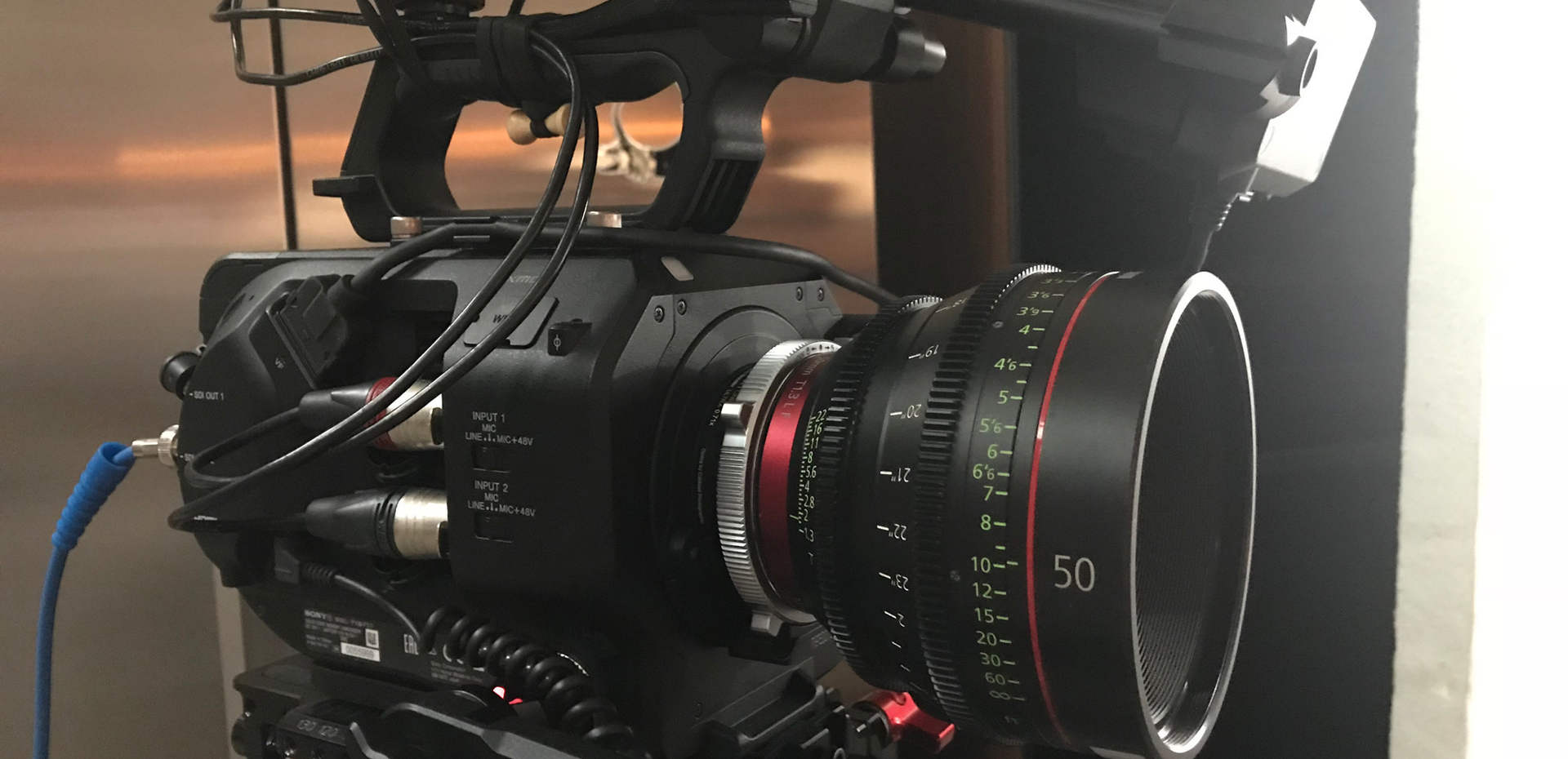 FS7 with Canon Primes - London Shoot wit