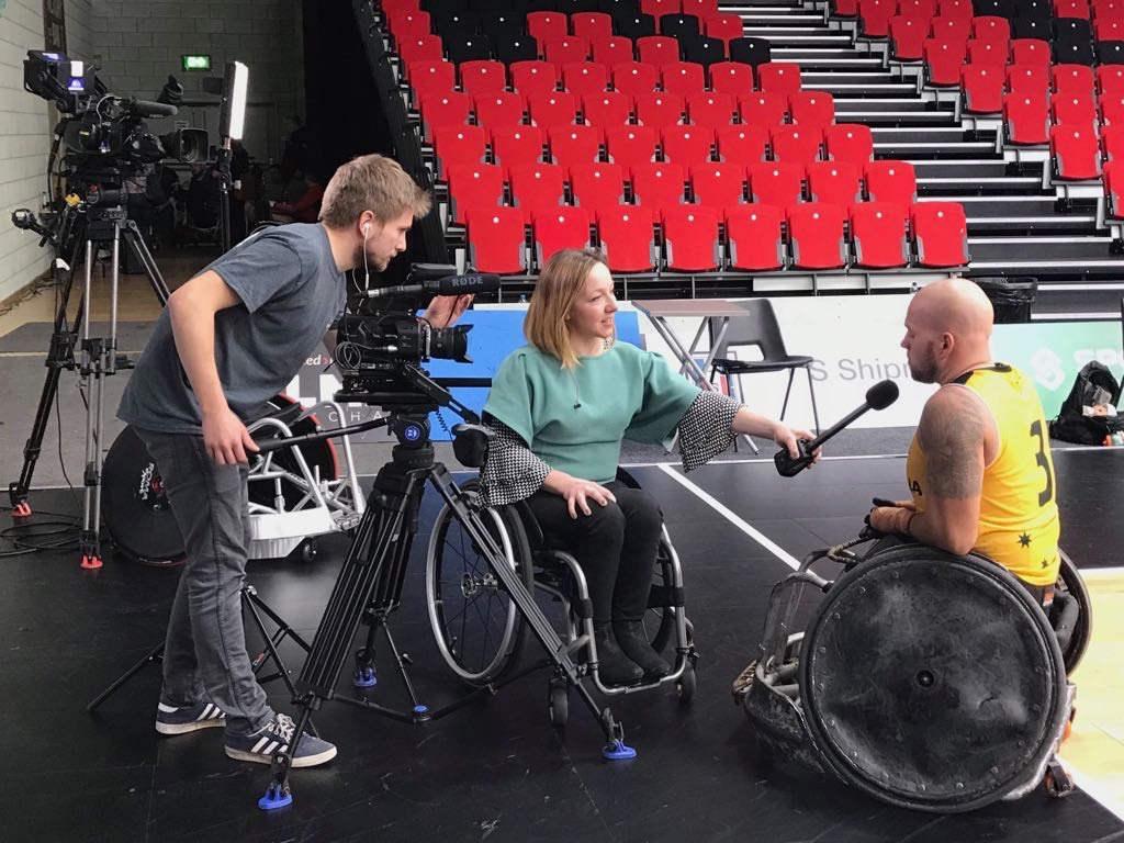 Quad Nations Wheelchair Basketball - Lei