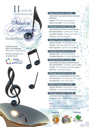 Ciclo de Música de Cámara de Godelleta en beneficio de JCP