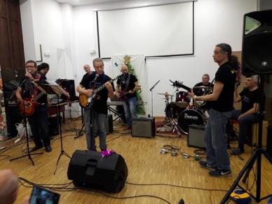 La Desbanda en concierto. 20/12/2018. Universitat Popular. Palauet d'Aiora