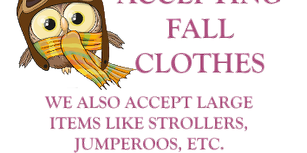 Consignment Drop-Off - August 28