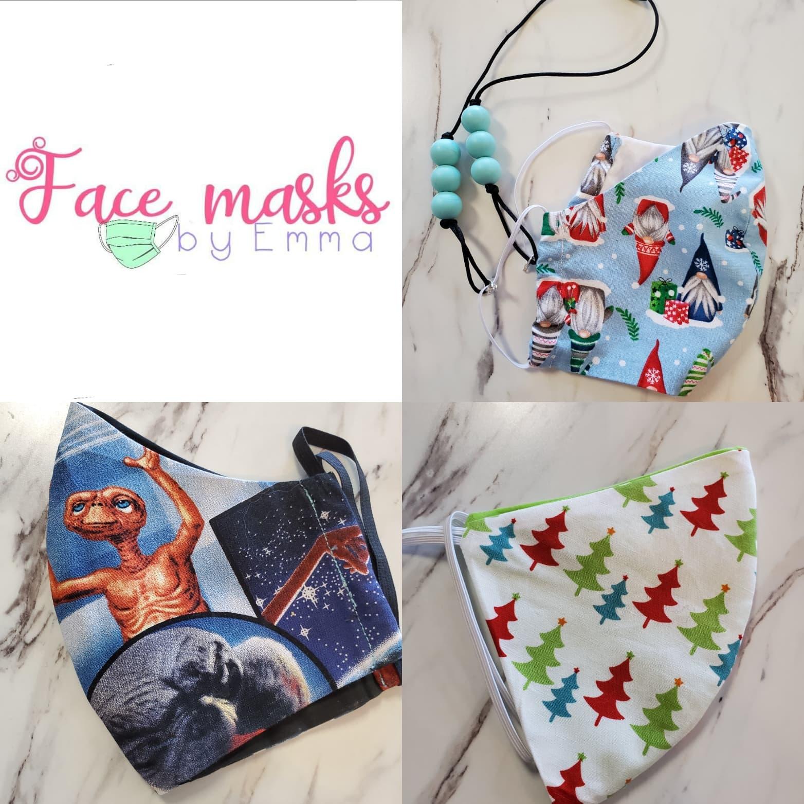 Face Masks by Emma