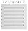 Grade de Ventilação - Grelha de Ventilação - Grade Plástica - Veneziana de Ventilação - Grade Ventokit Sicflux Sictel Tigre