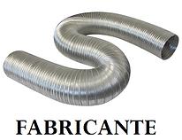 Fabricante duto flexivel semi rígido coifa aquecedor a gas