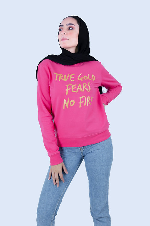 Rose True Gold Sweatshirt