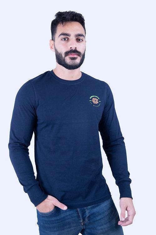 Navy blue T-shirt Full sleeve