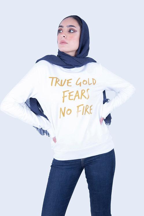 White True Gold Sweatshirt