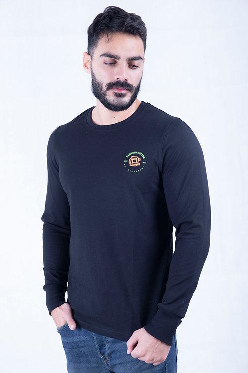 Black T-shirt Full sleeve
