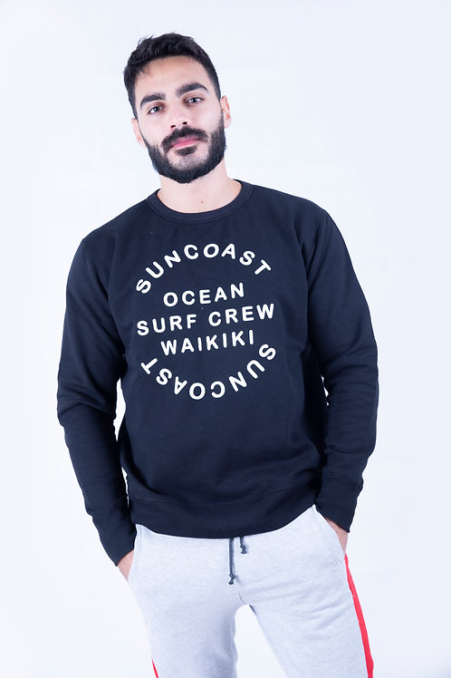 Suncoast Black Regular Sweatshirt