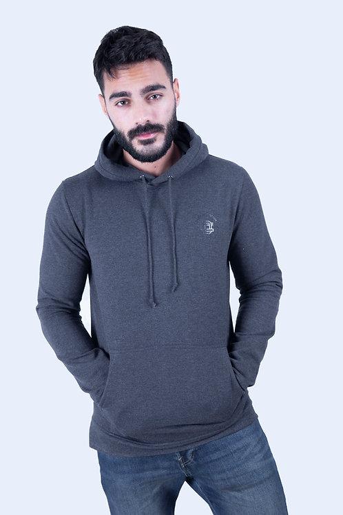 dark ash hoodie