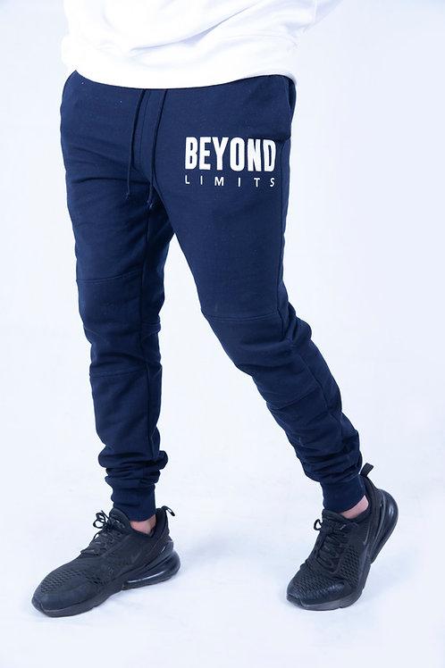 Beyond limits Navy Blue Jogger