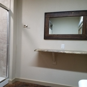 Bathrooms!