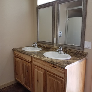 Double Sinks!