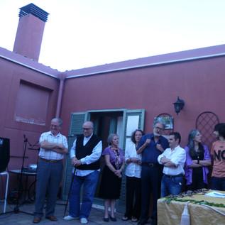Participantes en el III Velada Poética