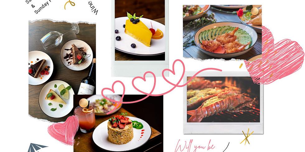 Social Distant Valentine Three-Cource Dinner