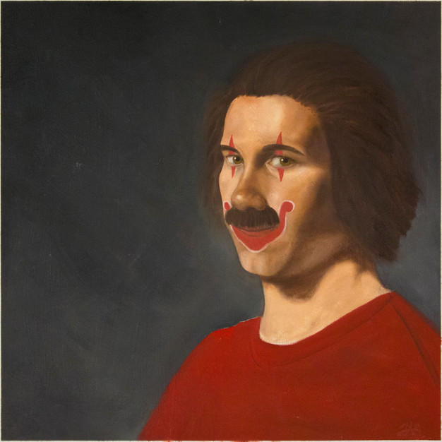 Self Portrait (clown)