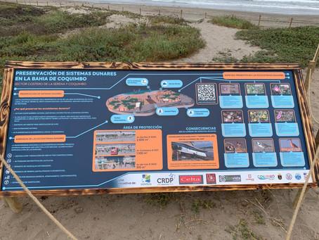 Ecovista participa en iniciativa de protección de los ecosistemas dunares del borde costero