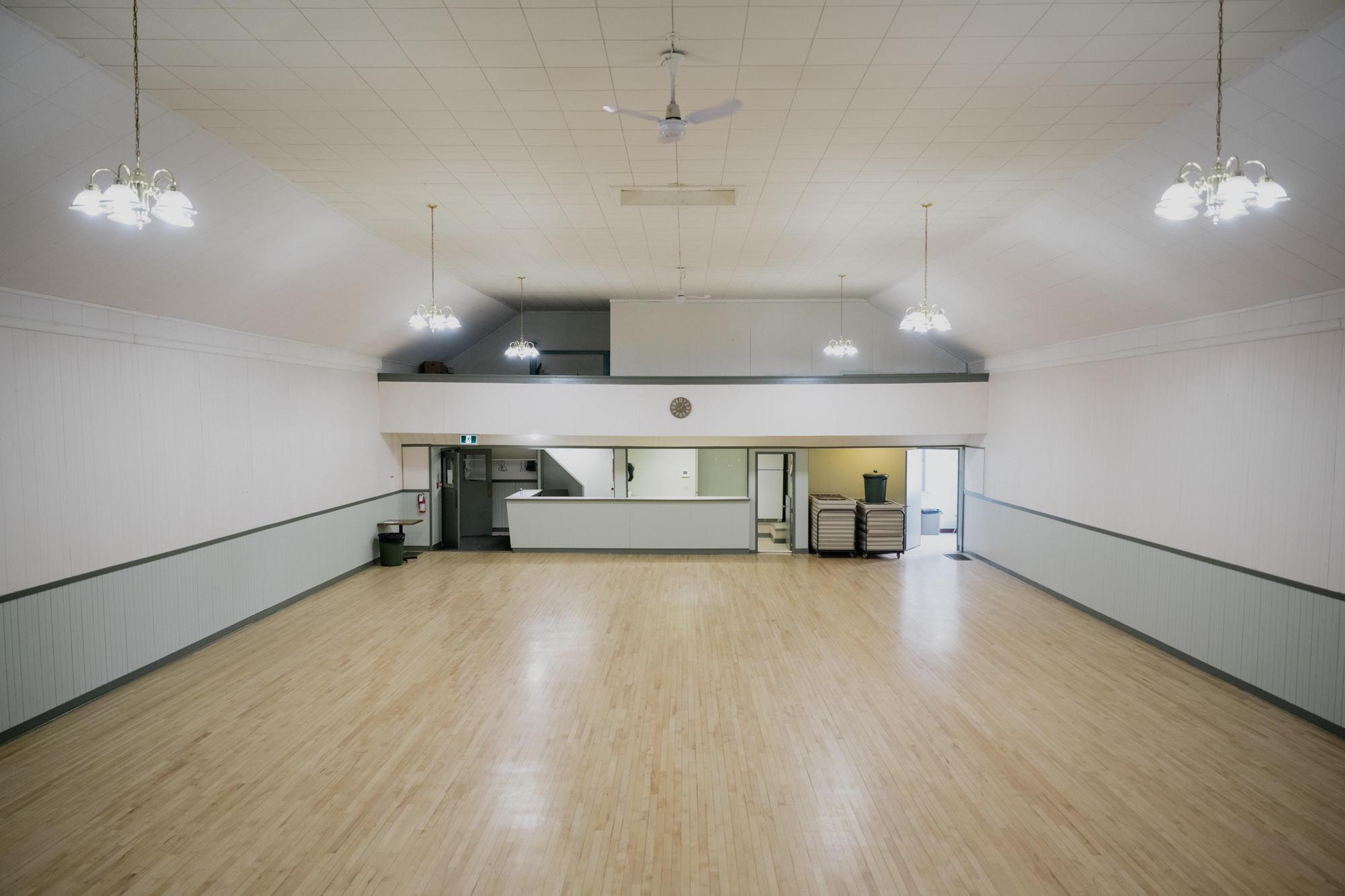 Private Main Floor - Half Day