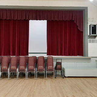 Chairs and Stage