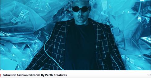 Futuristic Fashion Editorial by Perth Creatives