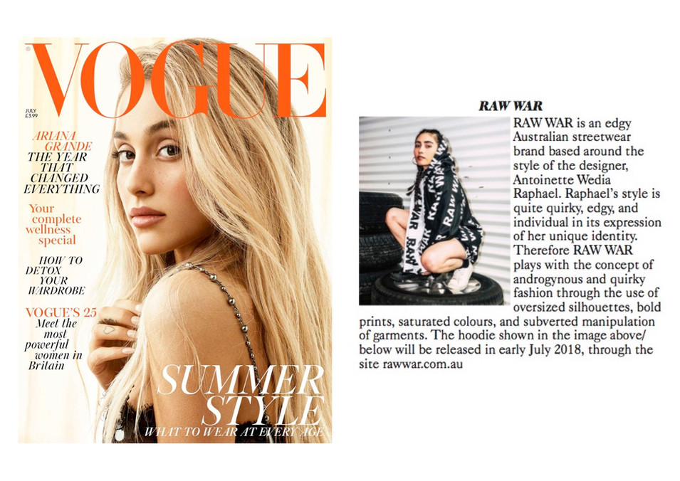 British Vogue July 2018 Feature