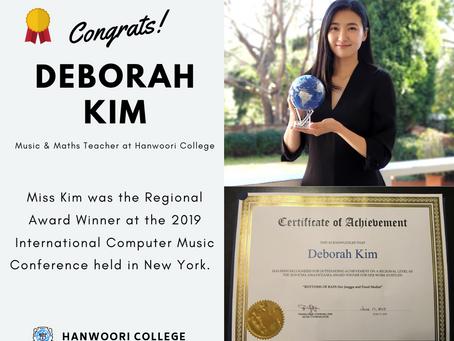 Internationally Recognised Teacher-Miss Deborah