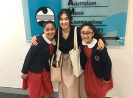 Our students received A+ for AMEB Piano Grade Exam