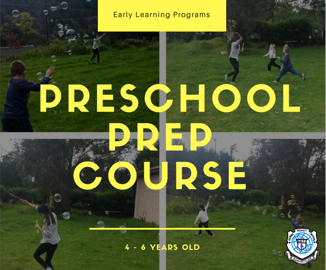 preschool prep course