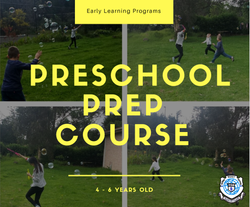 preschool prep course