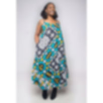 Our Agbo Dress Long is a must have! Thes