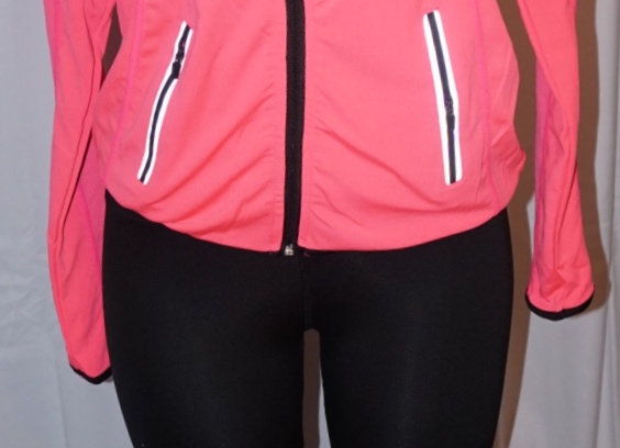 Sport Jacket & Leggings Set - Hot Pink