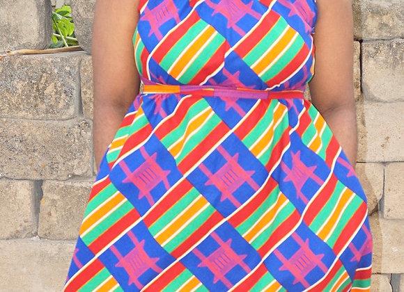 Agbo Dress Short