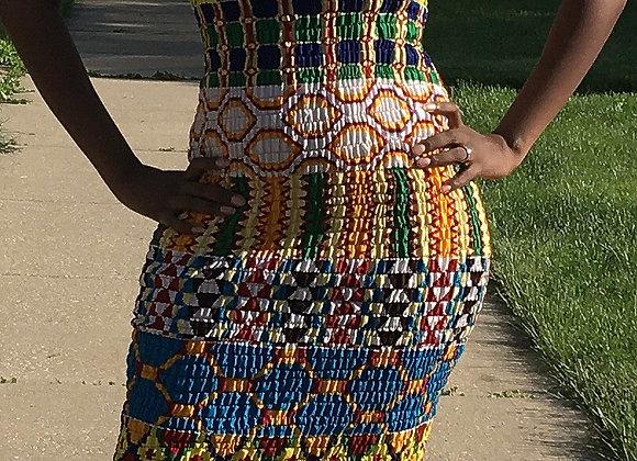 Ebony Sleek Tube Dress