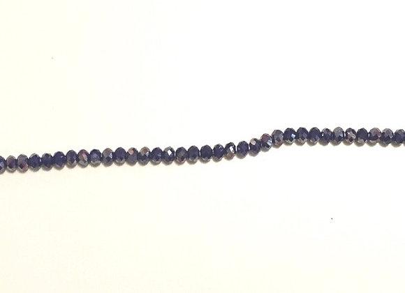 Blue Iridescent Waistbeads