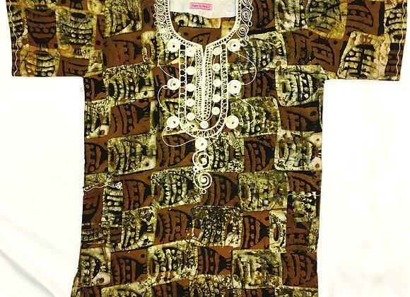 Kwame Embroidered Dashiki